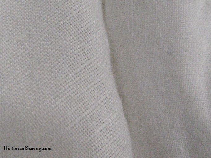 Linen fabric for undergarments