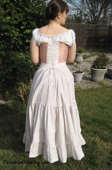 Lobster Tail & Petticoat back