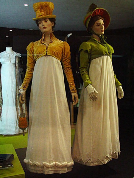Gold & Green Spencers from Persuasion