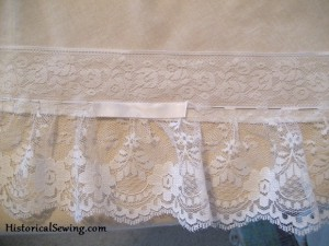 Mounting the Flat Lace & Ribbon