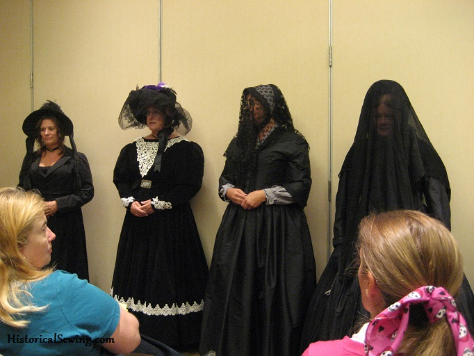 Mourning Fashion Show