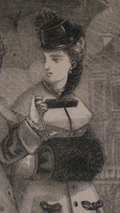 1875 Lady with Muff
