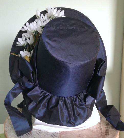 Romantic Era Bonnet -back view