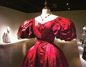 Onegin - Red dress costume for Liv Tyler