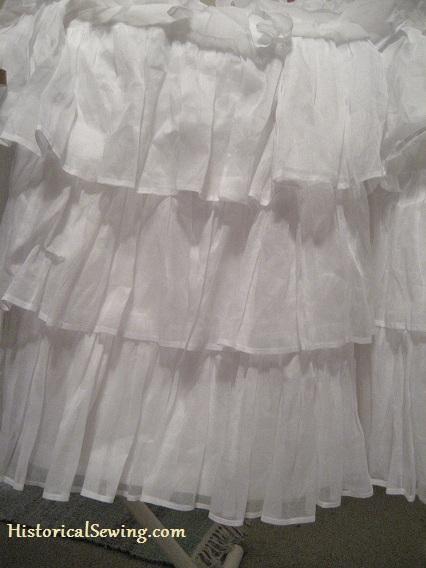 Petticoat Flounces