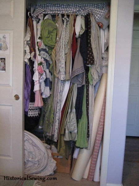 Packed Costume Closet