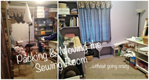 Tips for Packing & Moving a Sewing Room