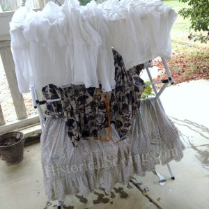 Petticoats Drying
