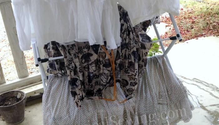 Starching Petticoats