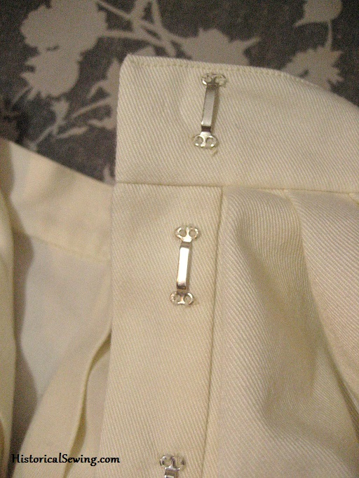 Placket & Waistband