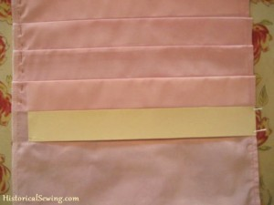 Pleating with Card Strip