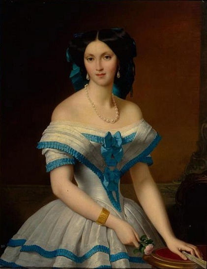 Princess Elizaveta Alexandrovna Tchernicheva by Alexis-Joseph Perignon, 1853