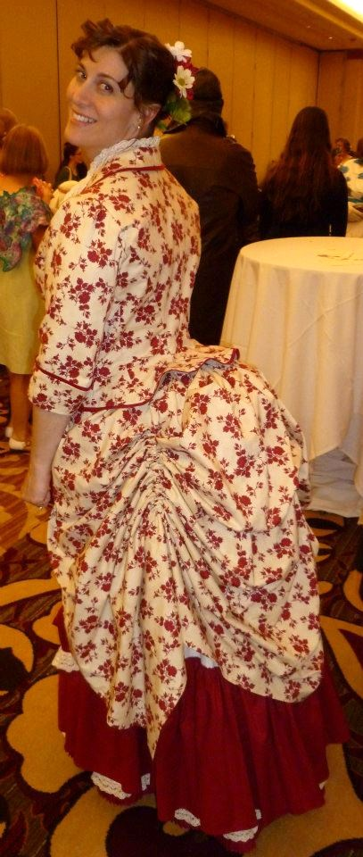 1883 Caramel Apple Dress. Photo by Rebecca Maiten
