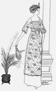 Promenade Patterns 1910-14 Dress