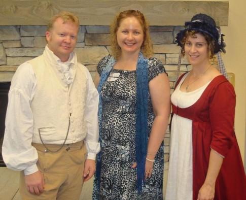 Regency Costumes from JoAnn Fabrics
