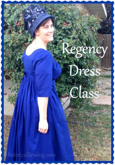Regency Dress Class