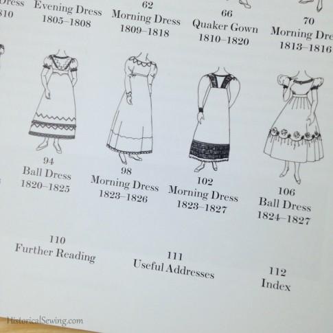 Regency Women's Dress contents
