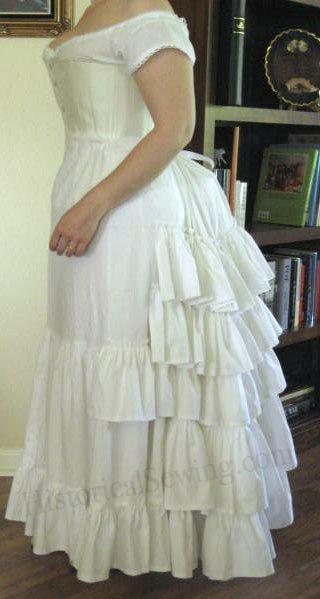Ruffled Petticoat