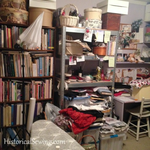 Sewing Room Packing Wall