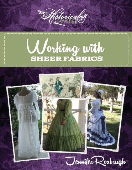 Click to order Working with Sheer Fabrics - digital PDF format