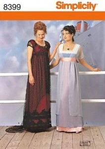 Simplicity Titanic-inspired Dress
