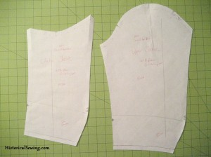 Two Piece Sleeve Pattern