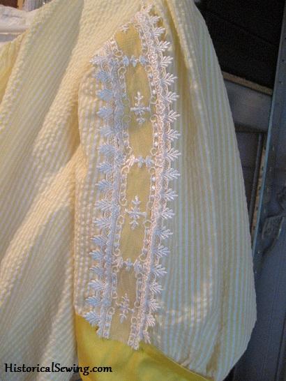 1905 Sleeve trim
