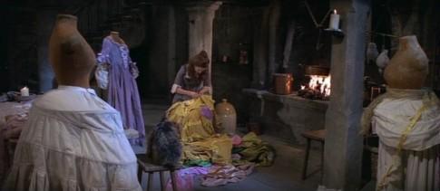 The Slipper & The Rose sewing scene