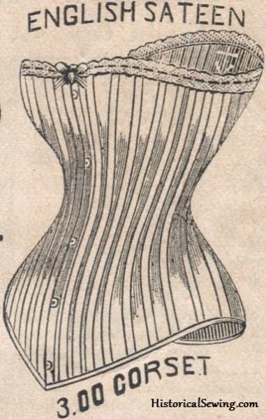 Straight seam corset ad | Victorian Corset Class
