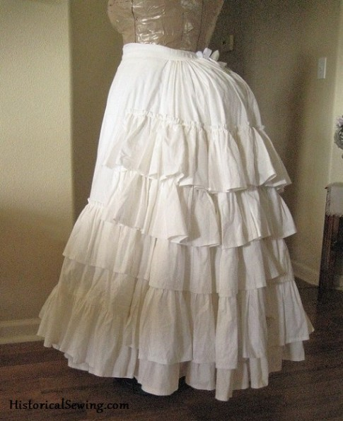TV108 & Ruffled Petticoat