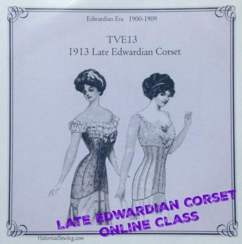 Late Edwardian Corset Class pic