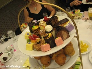 The tea fancies and goodies were so yummy!