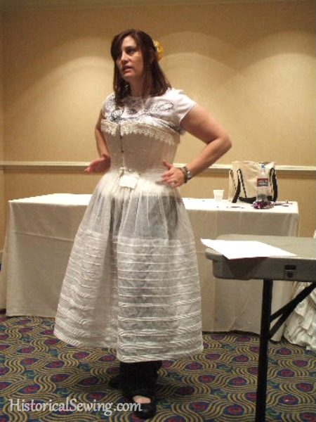 Teaching my Corded Petticoat class in 2011