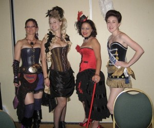 And the corset dressed girls...