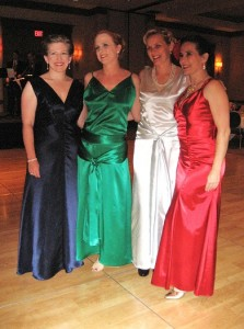 Becca, Jenn, Maegen & Elizabeth