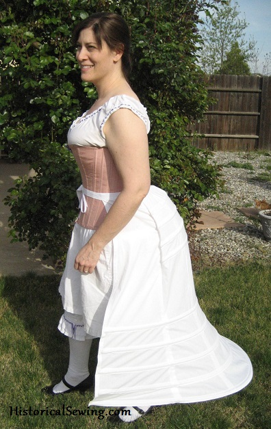 1870s Trained Bustle
