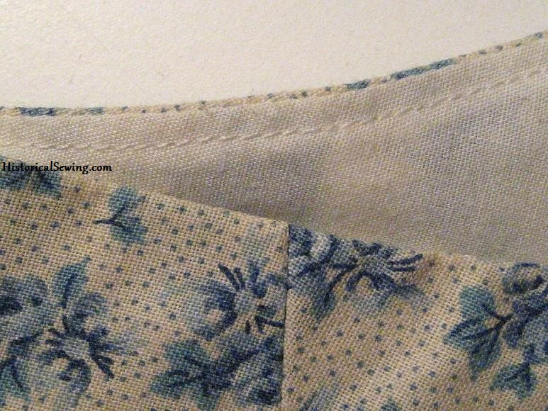 What is Understitching   HistoricalSewing.com