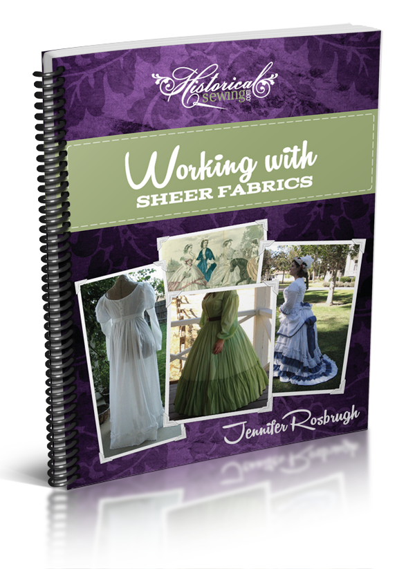 Click to order the Working with Sheer Fabrics Spiral-Bound Handbook