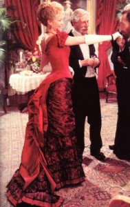 Ellen Olenska's Red Dress from Age of Innocence