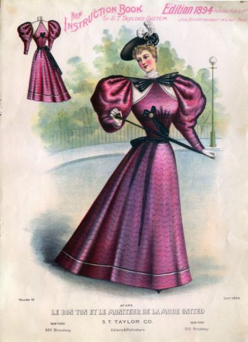Sleeve Shifts Of The 1890s Historical Sewing