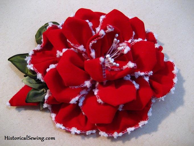 A Fancy Ribbon Rose
