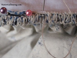 How to Sew Cartridge Pleats