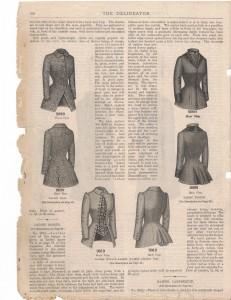 1884 Feb Delineator Jackets