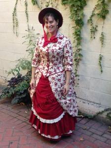The Red Dress: 1883 Caramel Apple Dress