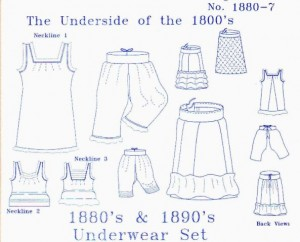 Simplifying the Search for Undergarment Patterns – Chemise