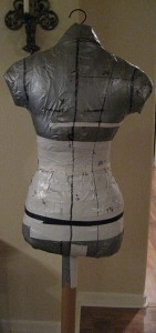 A Duct Tape Double Dressform