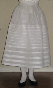 The Amazing Look of a Corded Petticoat