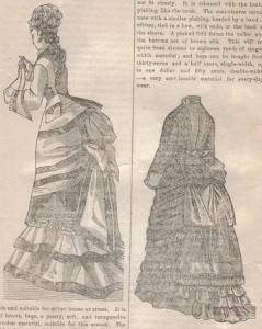 Demystifying Bustle Skirt Poufs