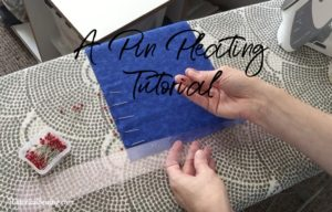 A Pin Pleating Tutorial