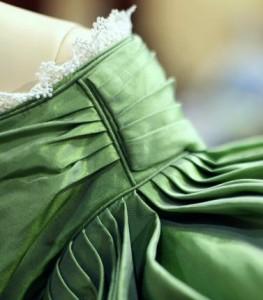 "1830 Acid Green ""Slytherin"" Dress"